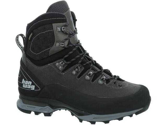 Hanwag Alverstone II GTX Chaussures Homme, asphalt/light grey